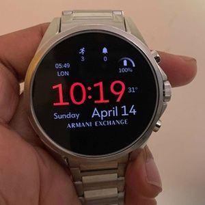 Armani Exchange Connected Smart Watch